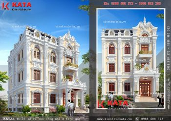 Thiết kế biệt thự vườn 3 tầng tại Quảng Ninh – Mã số: BT 31028