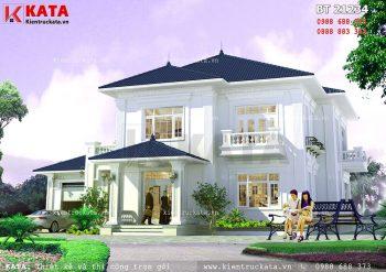 Biệt thự 2 tầng mái thái đẹp tại Bắc Ninh – Mã số: BT 21234