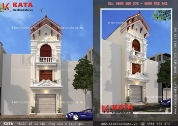 Nhà hộp 3 tầng đẹp tại Hải Phòng – Mã số: NP 35022