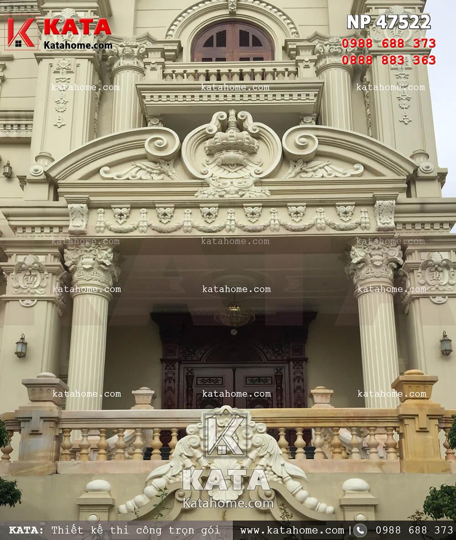 Mẫu thiết kế biệt thự tân cổ điển 4 tầng tại Hải Phòng sang trọng trong từng đường nét kiến trúc