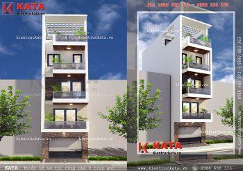 Thiết kế nhà lô phố 5 tầng đẹp tại Hải Dương – Mã số: NP 55061