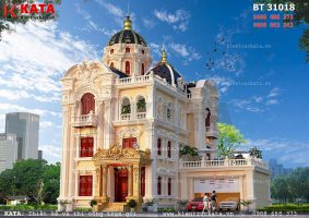 Biệt thự lâu đài 3 tầng tân cổ điển tại Ninh Bình – Mã số: BT 31018