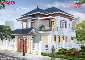 Biệt thự mini 2 tầng mái thái tại Phú Thọ – Mã số: BT 21018