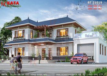 Biệt thự nhà vườn đẹp 2 tầng tại Bắc Giang – Mã số: BT 21019
