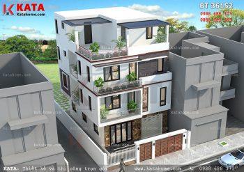 6 ngôi biệt thự hiện đại mái bằng đẹp nhất Việt Nam