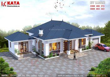 Nhà mái thái 1 tầng đẹp tại Bắc Giang – Mã số: BT 11022