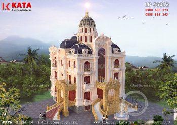 Biệt thự lâu đài cổ điển đẳng cấp tại Nam Định – Mã số: LD 46012