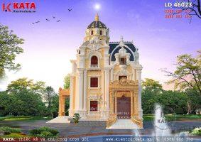Biệt thự lâu đài kiểu Pháp đẹp tại Hải Dương – Mã số: LD 46023