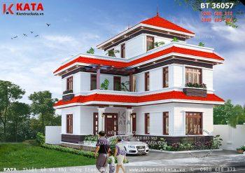 Biệt thự 2 tầng 1 tum tại Quảng Ninh – Mã số: BT 36057