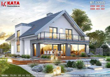 Biệt thự 2 tầng 4 phòng ngủ tại Đà Nẵng – Mã số: BT 13215