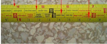Cách tra thước lỗ ban hợp phong thủy trong xây dựng