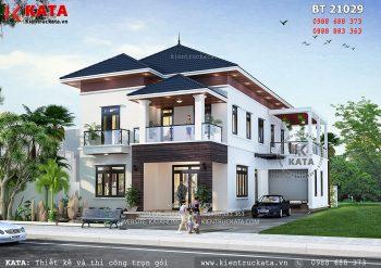 Mẫu nhà 2 tầng mái Thái tại Hà Tĩnh – Mã số: BT 21029