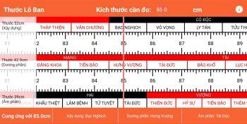 Hướng dẫn sử dụng thước lỗ ban trong xây dựng