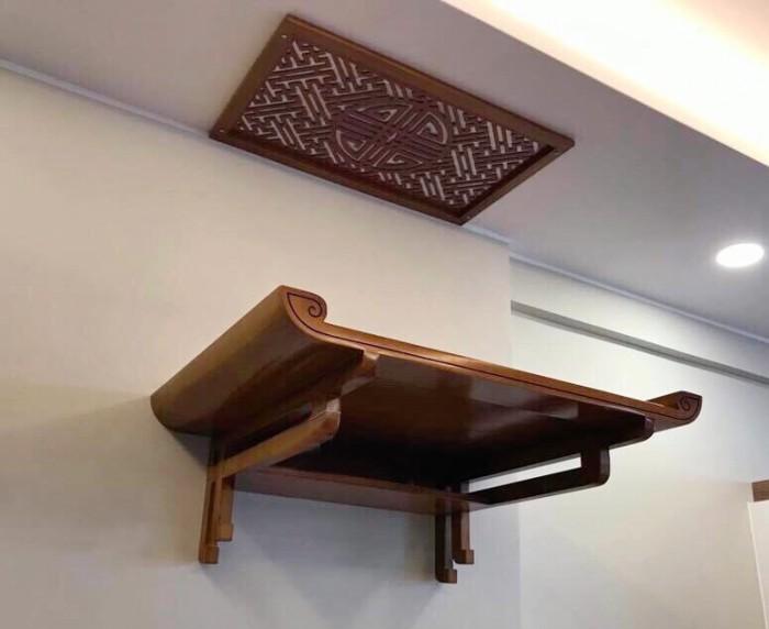 Kích thước bàn thờ theo lỗ ban - bàn thờ treo tường