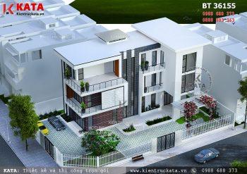 Biệt thự hiện đại đẹp 3 tầng 2 mặt tiền tại Hà Nam – Mã số: BT 36155