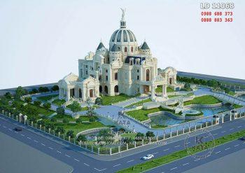 Cung điện lâu đài nguy nga tại Ninh Bình – Mã số: LD 11068