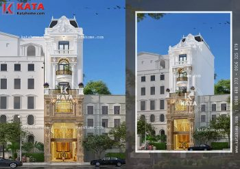Biệt thự nhà phố tân cổ điển đẹp tại Ninh Bình – Mã số: NP 50125