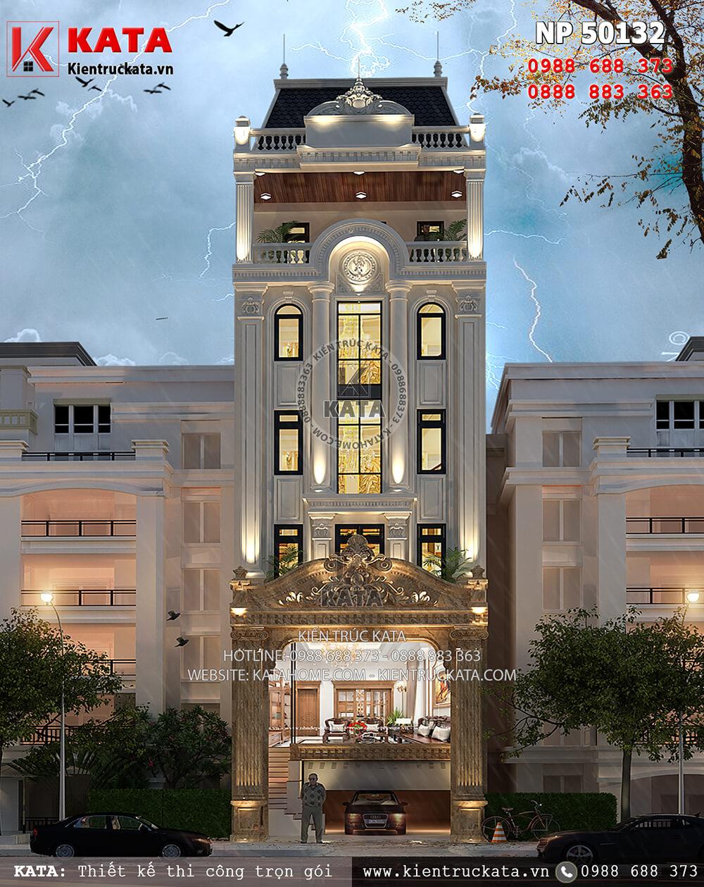 Mẫu thiết kế khách sạn 2 sao kiến trúc tân cổ điển đầy ấn tượng tại Nha Trang