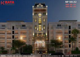 Thiết kế khách sạn 2 sao tân cổ điển tại Nha Trang – Mã số: NP 50132