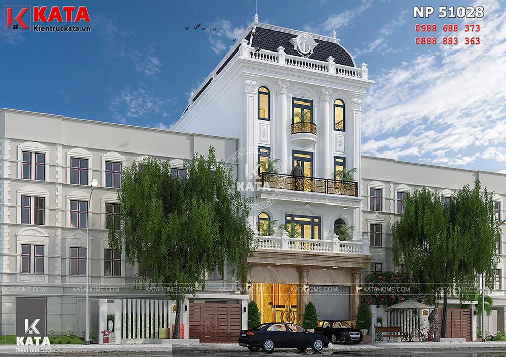 Một góc nhìn của mẫu thiết kế khách sạn nhà phố tại Hà Nội