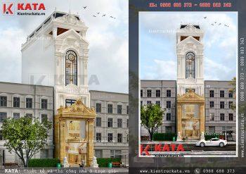 Thiết kế nhà ống mặt tiền 5m kết hợp kinh doanh tại Hà Nội – Mã số: NP 61023