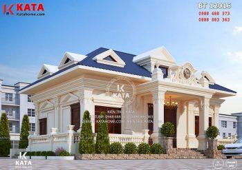 Mẫu thiết kế nhà cấp 4 đẹp tại Thái Nguyên – Mã số: BT 12016