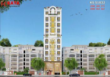 Thiết kế khách sạn 3 sao mini tại Cao Bằng – Mã số: BT 51032