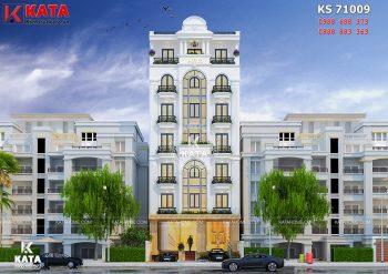Khách sạn 3 sao Hà Nội kiến trúc tân cổ điển đẹp – Mã số: KS 71009