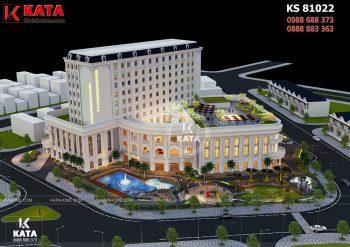 Khách sạn tân cổ điển 5sao đẹp tại Hà Nội – Mã số: KS 81022