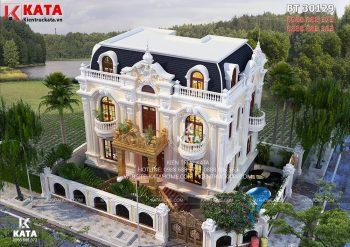 Chiêm ngưỡng các mẫu nhà 3 tầng tân cổ đẹp nhất 2018