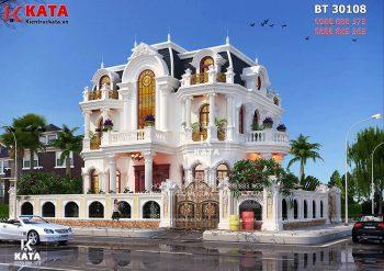 Những ngôi biệt thự tân cổ điển 3 tầng đẳng cấp nhất Sài Gòn