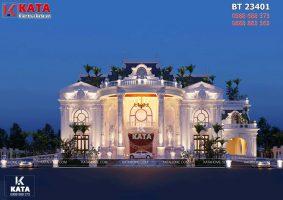 Mẫu dinh thự tân cổ điển đẹp 2 tầng tại Đà Nẵng – Mã số: BT 23401