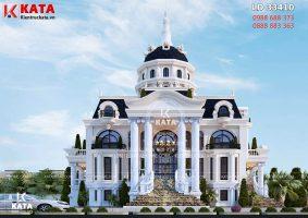 Mẫu biệt thự lâu đài 3 tầng tân cổ điển đẹp tại Hải Phòng – Mã số: LD 33410