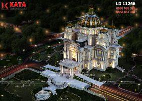 Bản thiết kế lâu đài đẹp nhất Việt Nam – Mã số: LD 11266