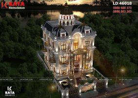Lâu đài dinh thự đẹp 4 tầng tân cổ điển tại Long An – Mã số: LD 46018