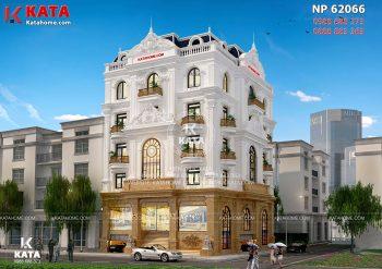 Thiết kế nhà ở kết hợp văn phòng cho thuê tại Thanh Hóa – Mã số: NP 62066