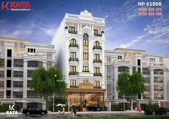 Mẫu nhà ống đẹp kết hợp văn phòng tại Bắc Ninh – Mã số: NP 61008