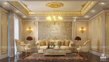 Thiết kế nội thất tân cổ điển sang trọng và đẳng cấp