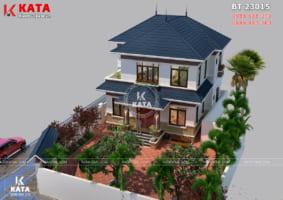 Mẫu nhà vườn 2 tầng 100m2 đẹp tại Sóc Sơn – Mã số: BT 23015