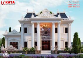 Mẫu biệt thự 3 tầng tân cổ điển đẹp tại Phú Thọ – Mã số: BT 33409
