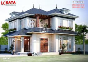 Mẫu biệt thự nhà vườn 2 tầng tại Thanh Hóa – Mã số: BT 20128