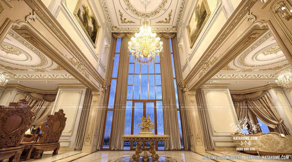 Thiết kế nội thất đại sảnh sang trọng và đẳng cấp