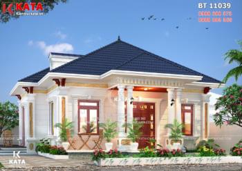 Mẫu thiết kế nhà cấp 4 đẹp 120m2 tại Thanh Hóa – Mã số: BT 11039