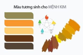 Mệnh Kim hợp màu gì và cách lựa chọn màu sắc hợp phong thủy