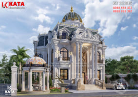 Thiết kế biệt thự 3 tầng đẹp tân cổ điển tại Thanh Hóa – BT 31335