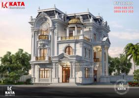 Biệt thự 3 tầng tân cổ điển đẹp tại Vĩnh Long – Mã số: BT 31300