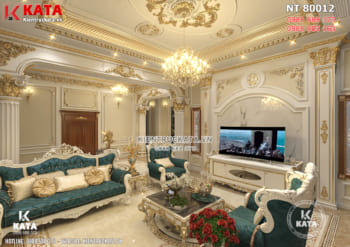 Mẫu thiết kế nội thất tân cổ điển đẹp sang trọng – Mã số: NT 80012