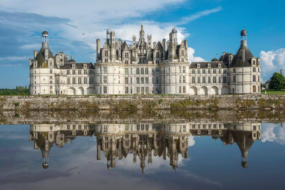 Château de Chambord ở Chambord, Pháp