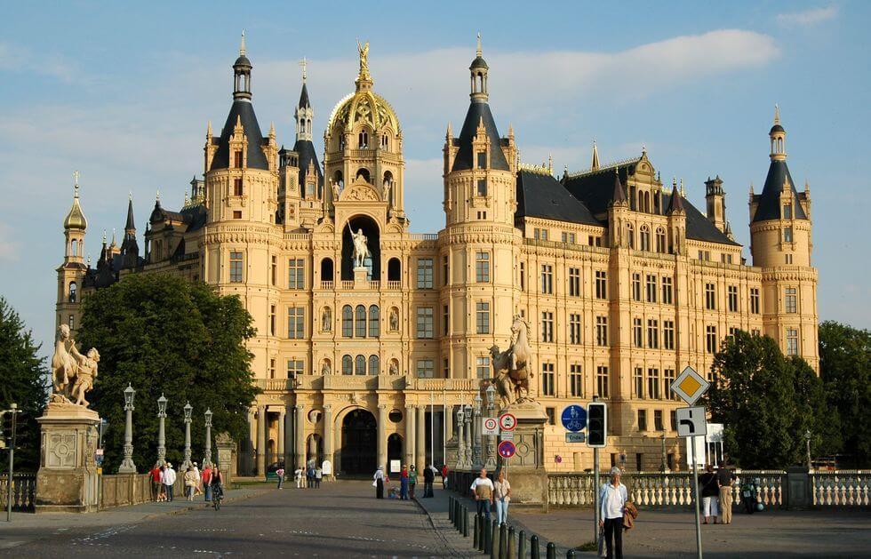 Lâu đài Schwerin ở Schwerin