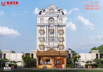 Mẫu thiết kế nhà phố kết hợp kinh doanh văn phòng mặt tiền 12m – NP 61015
